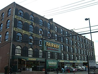 Fairway Market - The Fairway in Red Hook, Brooklyn
