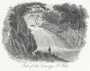 Falls of the Conway, no. Wales