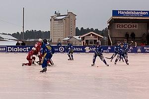 Lugnet, Falun - Falu BS playing bandy at Lugnet