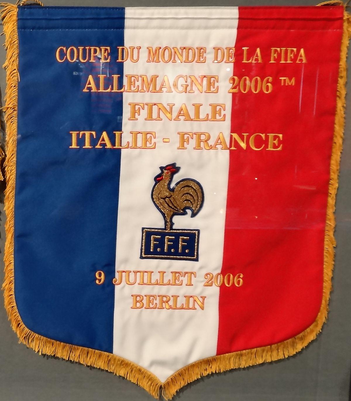 Finale de la coupe du monde de football de 2006 wikip dia - France portugal coupe du monde 2006 ...