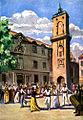 Farandole à Aix-en-Provence CP de 1931.jpg