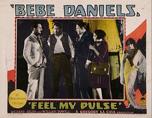 Feel My Pulse - Lobby card