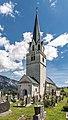 Feistritz an der Gail Pfarrkirche hl Martin WSW-Ansicht 16052017 8559.jpg