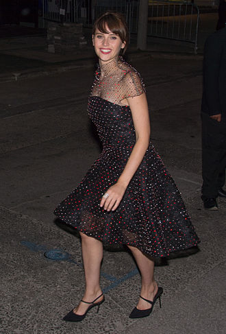 Felicity Jones - Jones at the 2014 Toronto International Film Festival