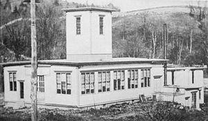 Edwin R. Fellows - Original plant of the Fellows Gear Shaper Company in Springfield, Vermont, ca. 1897.