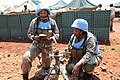Female combat troops of South African Contingent in MONUSCO on robust foot and moblile patrols 75.jpg