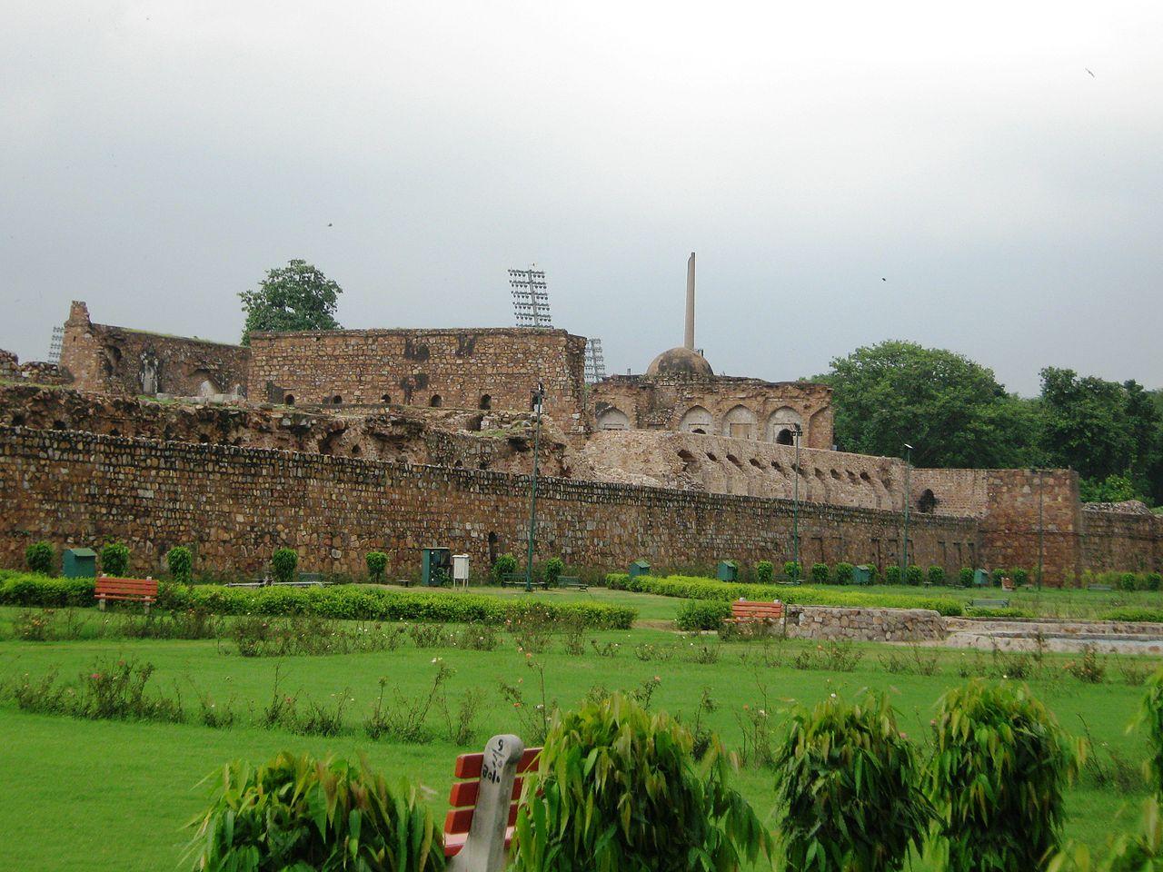 File feroz shah kotla delhi outer garden view jpg for Outer garden