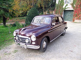 Fiat 1400 and 1900 - Image: Fiat 1900 A 02