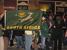 datant d'un homme blanc en Afrique du Sud