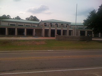 Vernon Parish, Louisiana - The Vernon Parish Library in Leesville