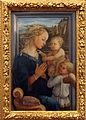 Filippino Lippi, Madonna col Bambino e angeli, 1465 circa, Uffizi, Firenze.JPG