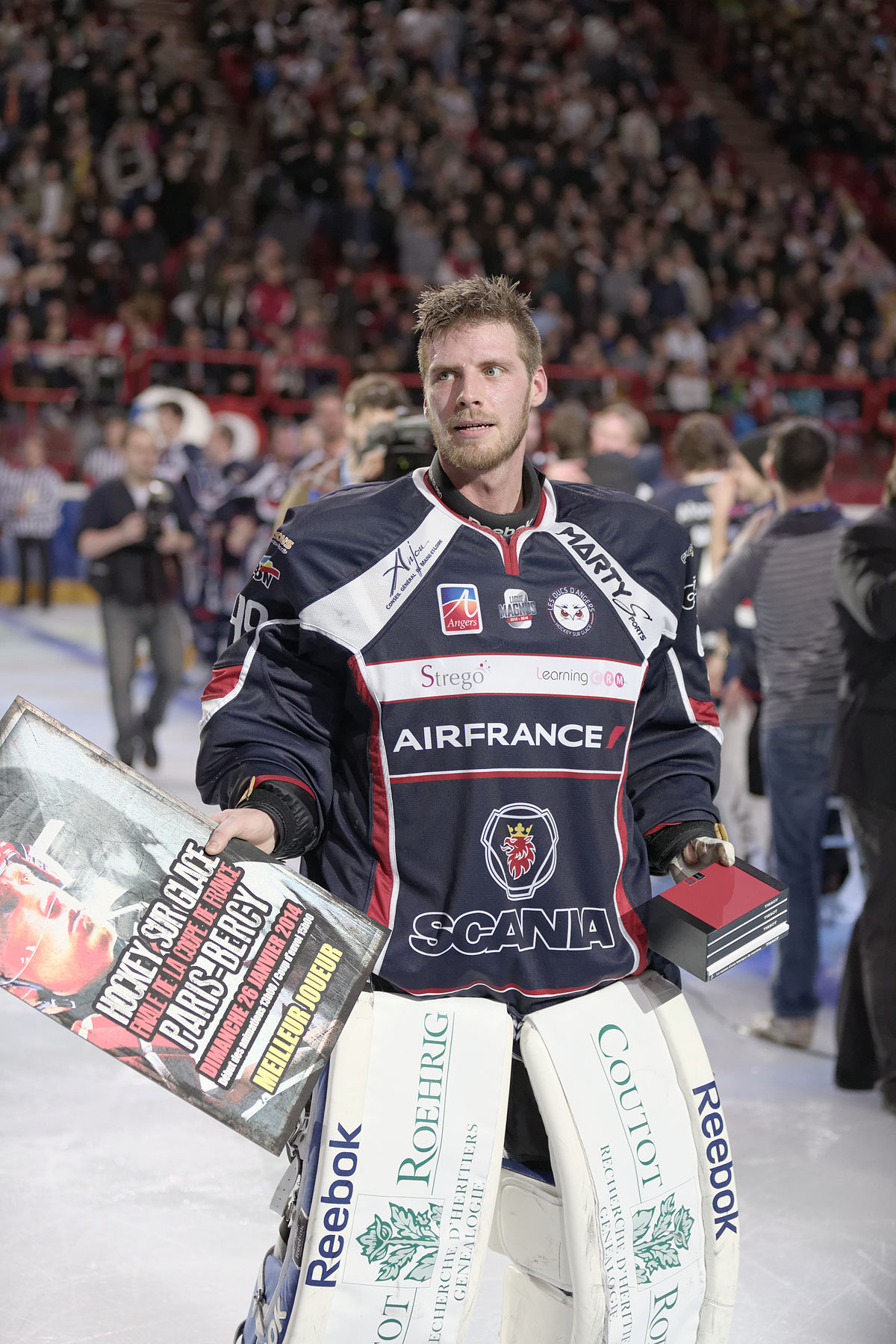 Florian hardy wikip dia - Final coupe de france hockey 2015 ...