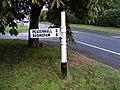 Finger Post, Old High Road, Yoxford - geograph.org.uk - 1417845.jpg