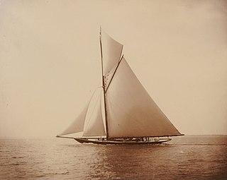 HMY <i>Britannia</i> (Royal Cutter Yacht) gaff-rigged cutter