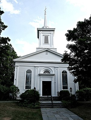 Rehoboth, Massachusetts - First Congregational Church, Rehoboth
