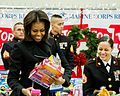 First lady Michelle Obama Supports Toys for Tots Annual Drive 131219-N-WY366-224.jpg