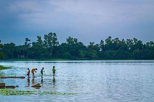 Ramsagar National Park - Fishing in Ramsagar National Park