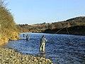 Fishing on the Ettrick Water - geograph.org.uk - 618667.jpg