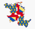 Flag map of the Duchy of Burgundy (918–1482).png