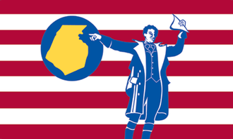 Emmitsburg, Maryland - Image: Flag of Frederick County, Maryland