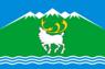 Flag of Tomponsky rayon.png