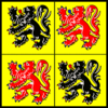 Flag province hainaut.png