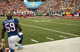 London Fletcher - Fletcher on the sidelines at the 2013 Pro Bowl.