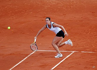 Jarmila Wolfe - Wolfe at French Open 2011