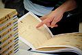 Flickr - boellstiftung - geöffnetes Exemplar der Romanskizzen (1).jpg