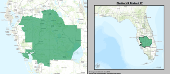 Florida's 17th congressional district - since January 3, 2013.