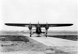 Bird of Paradise (aircraft) - Front view of an unmodified Fokker C-2.