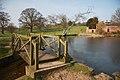 Footbridge across run-off - geograph.org.uk - 1220067.jpg