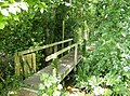 Footbridge near Blackwater - geograph.org.uk - 485487.jpg