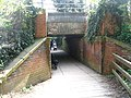Footpath Under the Railway Line, Humber Bridge Country Park - geograph.org.uk - 1259521.jpg