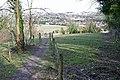 Footpath down the hill - geograph.org.uk - 1736425.jpg
