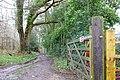 Footpath towards Twyford Farm - geograph.org.uk - 1779406.jpg