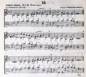 "O Little Town of Bethlehem - ""Forest Green"", from the English Hymnal, 1906"