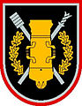 Former insignia of the General Romualdas Giedraitis Artillery Battalion (Lithuania).jpg