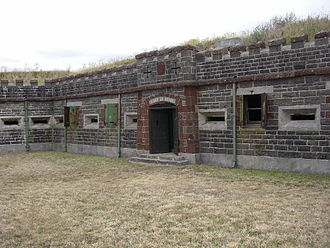 Ripapa Island - Fort Jervois