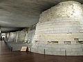 Fortress remains, Louvre, Paris June 2014.jpg
