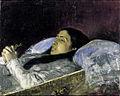 Fortuny La senyoreta Del Castillo en el seu llit de mort.jpg