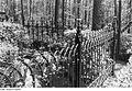 Fotothek df rp-d 0470003 Spreetal-Burghammer. Eiserner Zaun auf dem Friedhof, vermutlich ein Produkt des.jpg