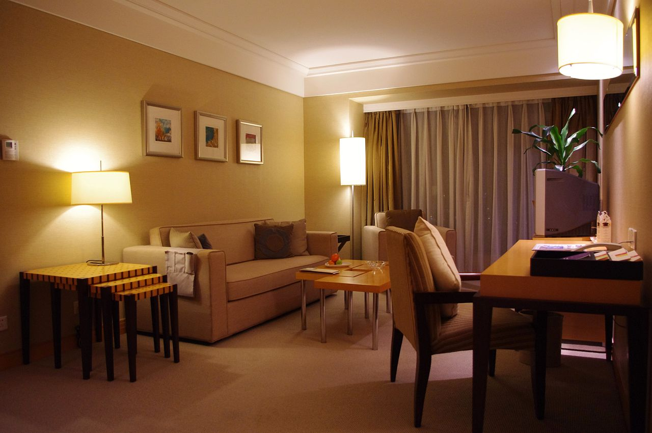 File four points by sheraton shenzhen superior suite for Living room suit