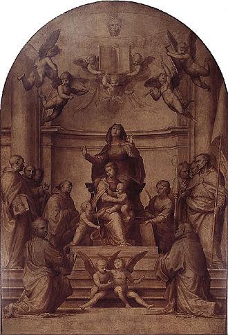 Museo Nazionale di San Marco - Signoria Altarpiece by Fra Bartolomeo