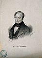 François Magendie. Lithograph by V. Dollet. Wellcome V0003782.jpg