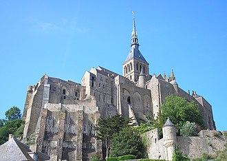 Mont Saint Michel Abbey - Image: France Normandie Le Mont Saint Michel Abbaye