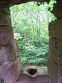 France Bas-Rhin Girbaden Castle Latrines.JPG