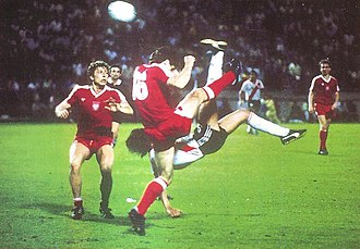 Bicycle kick - Enzo Francescoli scores for River Plate against Poland with a memorable bicycle kick in 1986.