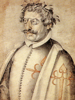 Francisco de Quevedo - Portrait of Quevedo (c. 1618) by Francisco Pacheco.