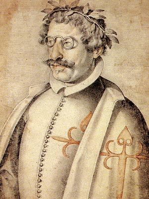 Francisco de Quevedo - Portrait of Quevedo (c. 1618) by Francisco Pacheco.